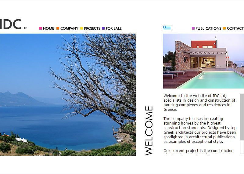 Specialists in design and construction of housing complexes and residences in Greece