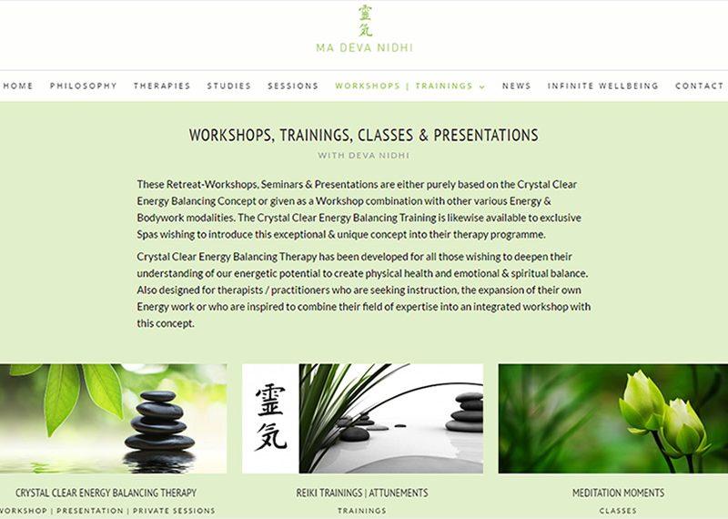 Workshops, trainings, classes & presentations