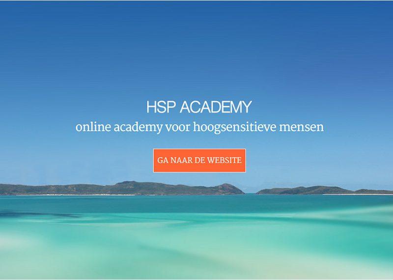 online academy voor hoogsensitieve mensen