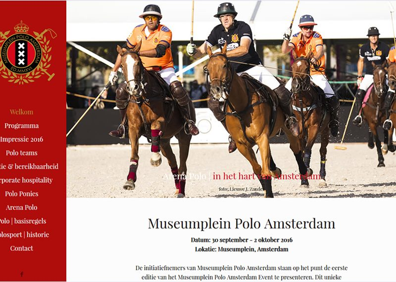Polo event in Amsterdam
