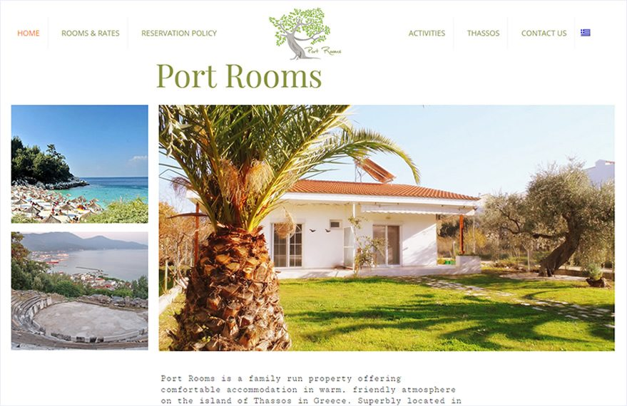 Rental rooms in Thassos