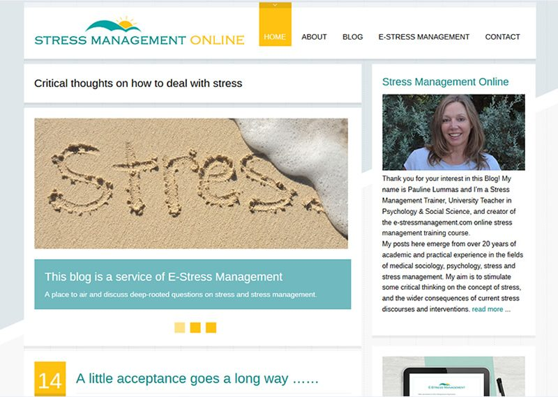 E-Stress Management