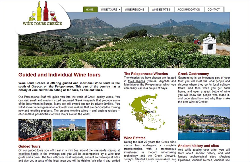 Guided and Individual Wine tours